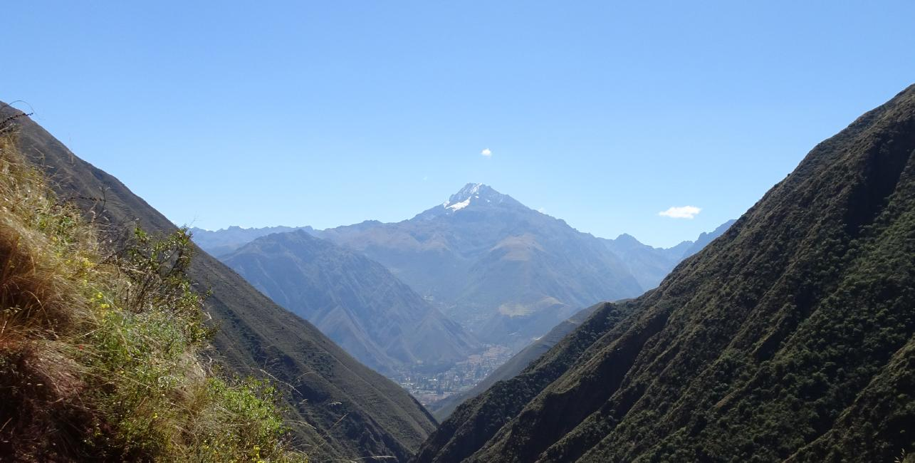 View from Urquillos Inca Trail